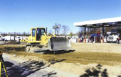 Rebuilding a truck terminal while maintaining its availability for business.
